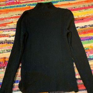 Black america eagle turtle neck